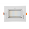 shenzhen led factory cob 30w rectangular led downlight led shoplighter