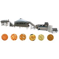 Fried wheat flour crackers/sticks processing line