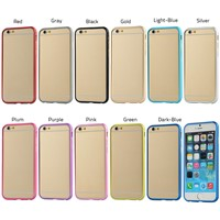 "5.5"" Ultra Thin Aluminum Metal Bumper Case Frame Cover For iPhone 6 Plus"