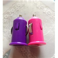 5V 1A Colorful Car Charge Portable Mini Charger Mobile phone charger  for HTC Samsung Galaxy