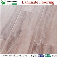 Factory Direct Natural Texture Handscraped Eco-Friendly Laminate Flooring