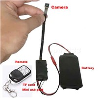 HD 1080P DIY Module SPY Hidden Camera Video MINI DV DVR w/ Remote Control