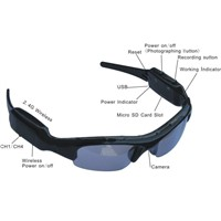 1280x960 Hot Sunglasses Spy Hidden Camera DVR Video Recorder Camcorder