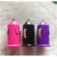 5V 1A Colorful Car Charge Portable Mini Charger Mobile phone charger  for Samsung HTC