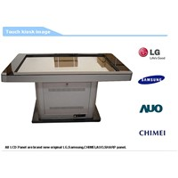 Stylish wifi water-proofed 42 inch HD LCD interactive multi touch table