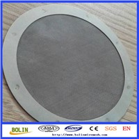 stainless steel wire mesh for filter stainless steel filter disc wire mesh