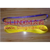 China supplier endless  lifting belt synthetic lifting sling lifting band hebeband