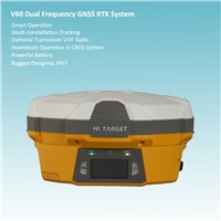 Dual Frequency High Accuracy RTK GPS Instrument For Engineering Setting-out