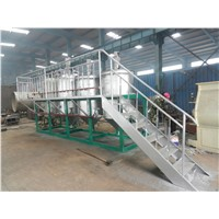ISO9001 quality approved vegetable oil refinery plant