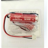 PLC battery maxell  ER6 3.6V 2000MAH Non-rechargeable  lithium Battery