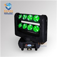 Rasha Factory Price 8*10W 4IN1 RGBW LED Moving Head Spider Light,Disco Effect Light