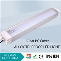 IP66  waterproof led lighting fixture emergency light led