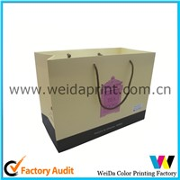 2015 China high quality best design gift paper bag
