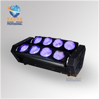 Best Selling 8pcs*10W Cree RGBW 4in1 LED Moving Head Spider Light, Disco LED Effect Light