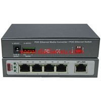 5ports POE Switch 4channels 10/100M Ethernet with one uplink 10/100M Ethernet POE Switch