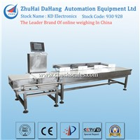 Automatic weight sorter machine