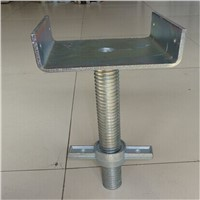 hollow and solid scaffolding steel base jack