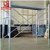 international standard construction hot-dip galvanized frame scaffolding