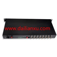 16 Channels Digital Video / Data/Audio Fiber Optical Transmitter & Receiver