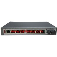 DLX-PFS08 SM 20KM single-fiber SC 8channels 10/100M POE Ethernet Fiber Optical Switch