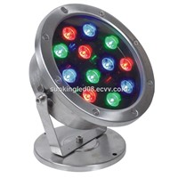18W rgb led underwater light 24V IP68 304 stainless steel underwater led fountain lights