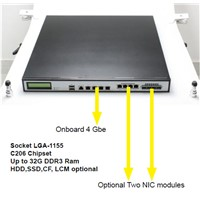 1u rackmount network appliance