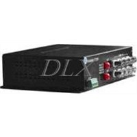 Bi-direction Digital Video/Audio/Data Fiber Optical Transmitter and Receiver for video conference