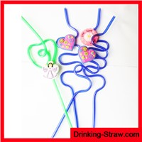 FDA SGS Reusable Hard Plastic Drinking Straws