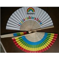 Japanese Style Paper Fan for Promotion Gifts