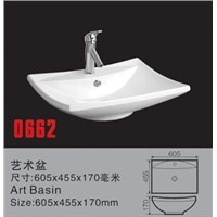 ceramic top mounted sanitary ware art basin manufacturer counter basin