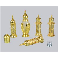 golden perfume bottle,perfume bottle components