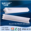 IP66 LED Aluminum Profile 40w 1.2m Cabinet Strip Light with Diffuser cover