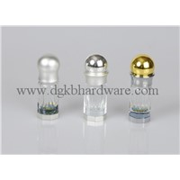 Mini glass perfume bottle,colored plating essential oil bottle