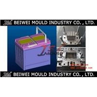 Custome auto battery container  mould