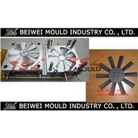 China Top quality plastic car Fan BLade mold