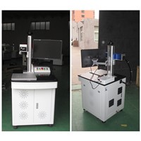 hot selling 20w fiber laser marking machine with desktop for rings