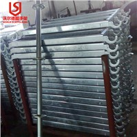 Galvanized scaffold Metal Steel Catwalk Hook on Board