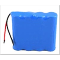 14.8V Ternary material cylindrical Lithium ion Battery Packs for camera