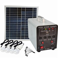15W Solar Panel 7AH Deep Cycle AGM Battery Portable DC Solar Energy Systems for Lighting FS-S903
