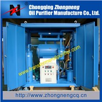 dielectric oil treatment machine, single stage vacuum transformer oil purifier