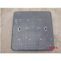 ductile iron manhole cover en124 double triange for Oman