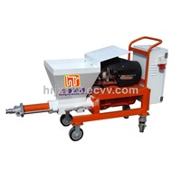 mortar cement plaster spraying machine for building