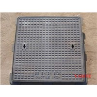 ductile iron manhole cover en124 D400 with frame and lock