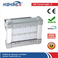 Led Flood Light 60W IP65 Outdoor Tunnel Lamp MeanWell Driver Bridgelux Chips With 3 Years Warranty