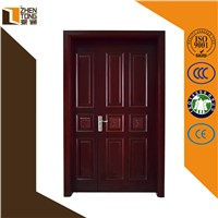 China supplier Modern design interior/exterior solid wood door