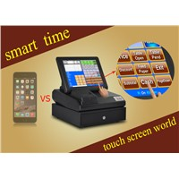 Morden touch screen pos with pos software