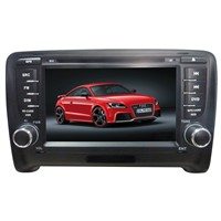 special 7 inch 2-DIN touch screen CAR DVD PLAYER WITH GPS and Bluetooth FOR AUDI TT 2006-2011