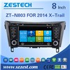 TOUCH SCREEN GPS NAVIGATION SYSTEM CAR DVD PLAYER For 2014 Nissan X-trail Nissan 2014 QASHQAI