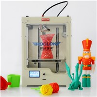 Professional FDM desktop 3D printer / U2 single/double nozzle 3D printer support ABS/PLA filament