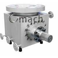 melt gear pump for plastic recycling extruder
